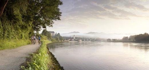 Un tramos de la ruta en bici por el Danubio