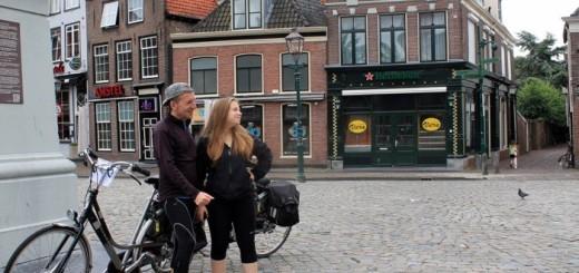 Lluis Llord en su ruta ciclista por Holanda