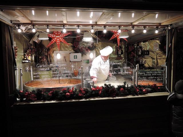 Gastronomía típica de Gante en los Mercadillos de Navidad