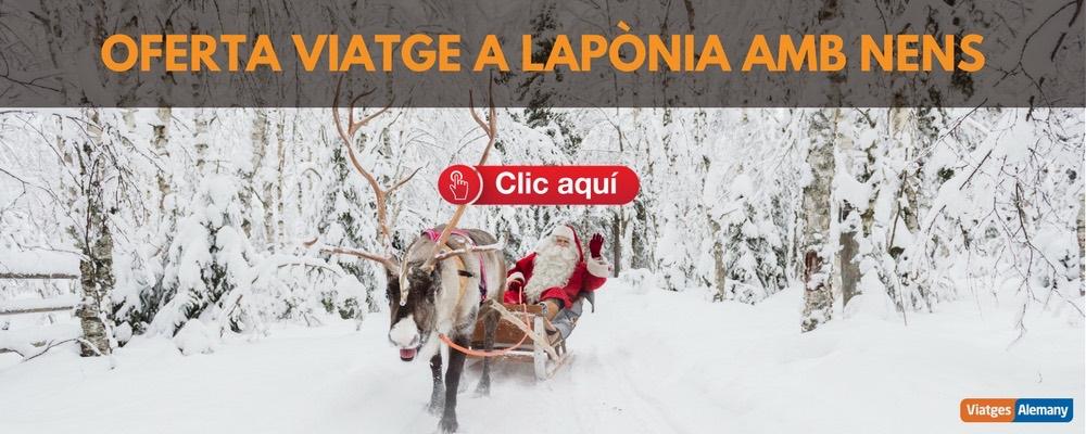 Oferta viatge a Lapònia amb nens