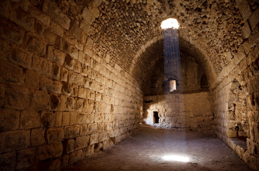 El castillo de Kerak en Jordania