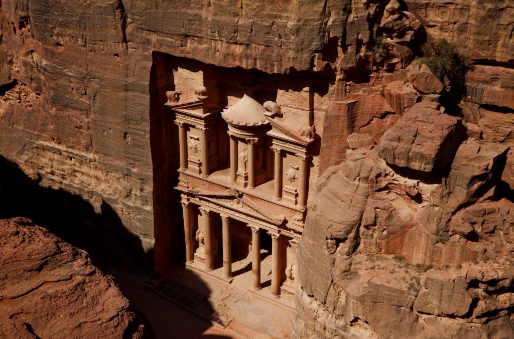 Petra al viajar a Jordania