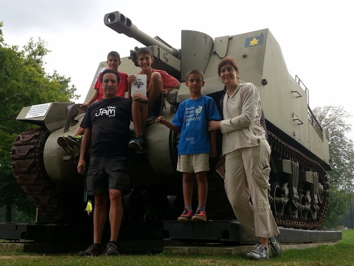 Uno de los tanques del desembarco de Normandía