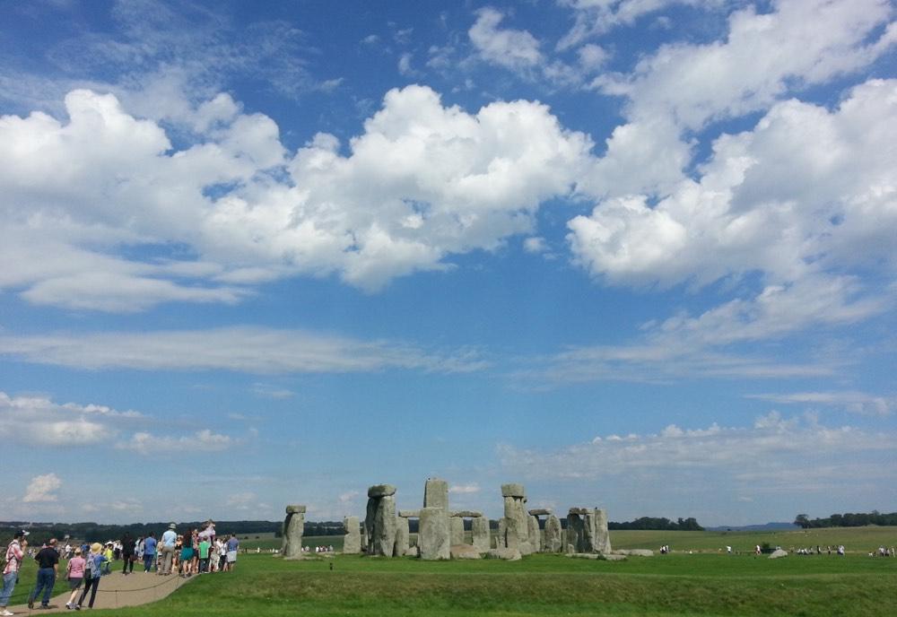 Acceso al recinto arqueológico de Stonehenge