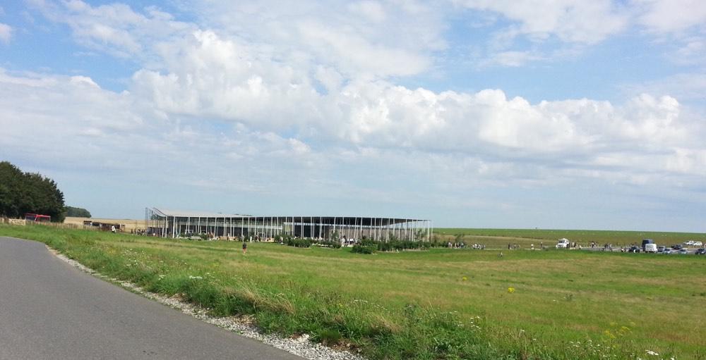 El Centro de Visitantes de Stonegenge