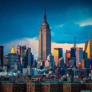 La ciudad de Nueva York en diciembre