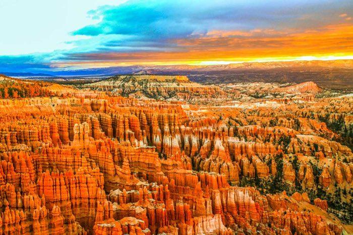 Bryce Canyon en la Costa Oeste de EEUU