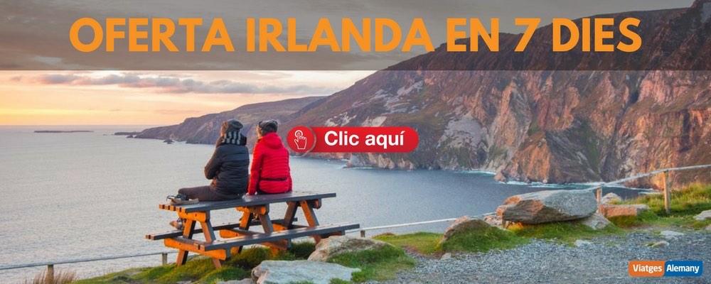 Oferta viatge a Irlanda en 7 dies