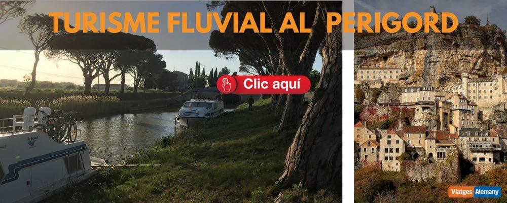 Oferta turisme fluvial al Perigord