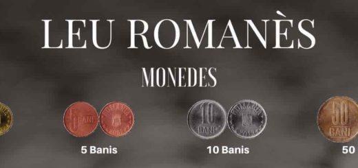 la moneda de romania