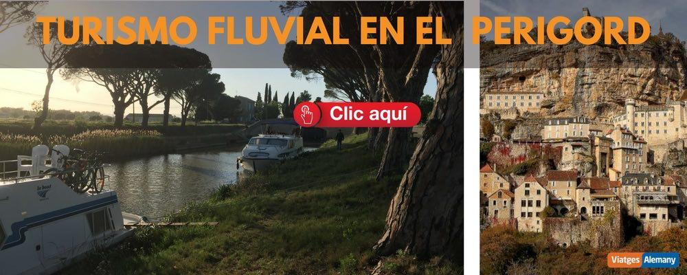Oferta turismo fluvial Perigord