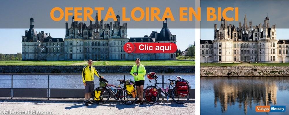 Oferta castells del Loira en bici