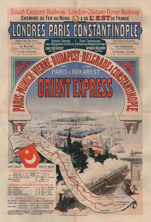 El Orient Express a su paso por Budapest