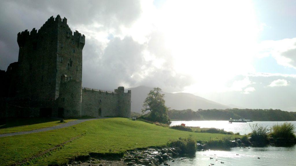 Visita con los niños al Castle Ross