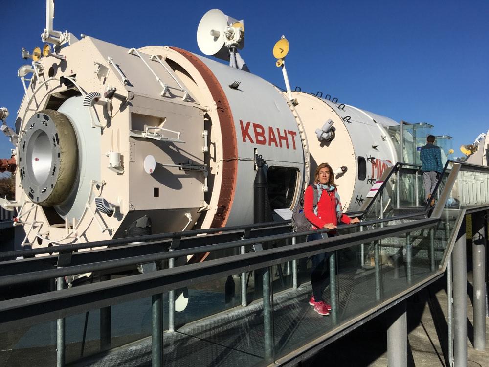 L'Estació Espacial a la ciutat de l'Espai