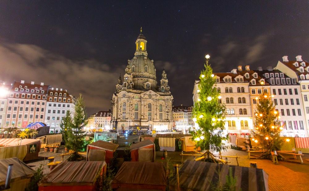 Mercados navideños de Alemania en Dresden