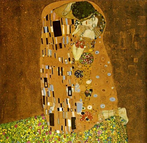 El beso de Klimt en la Belvedere