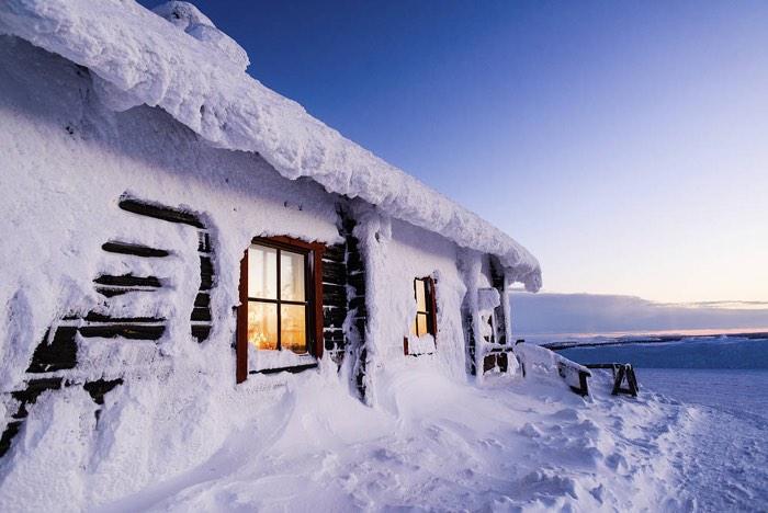 Laponia en Navidad