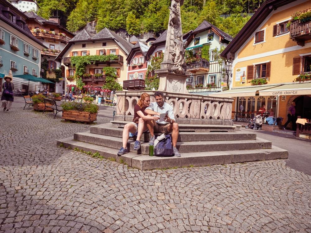 Descanso en Hallstatt