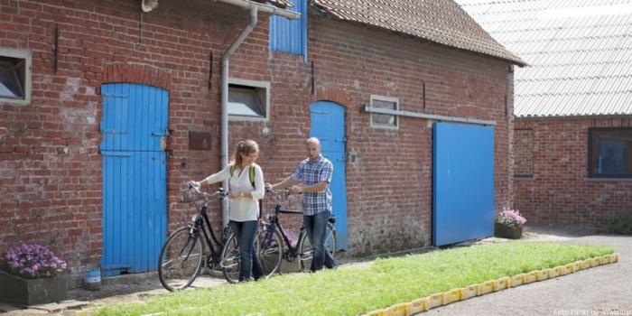 Paseando en bici por Flandes