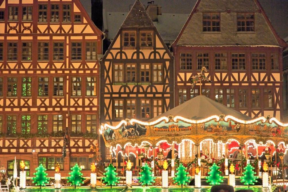 Mercado navideño de Frankfurt