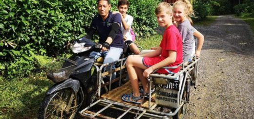 Viajando por tailandia con niños