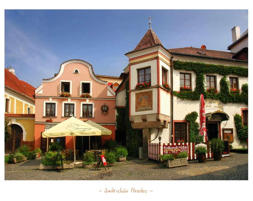 La ciutat Txeca de Jindrichuv Hradec