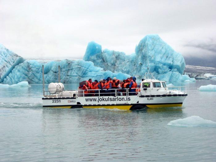 El lago helado de Jokulsarlon