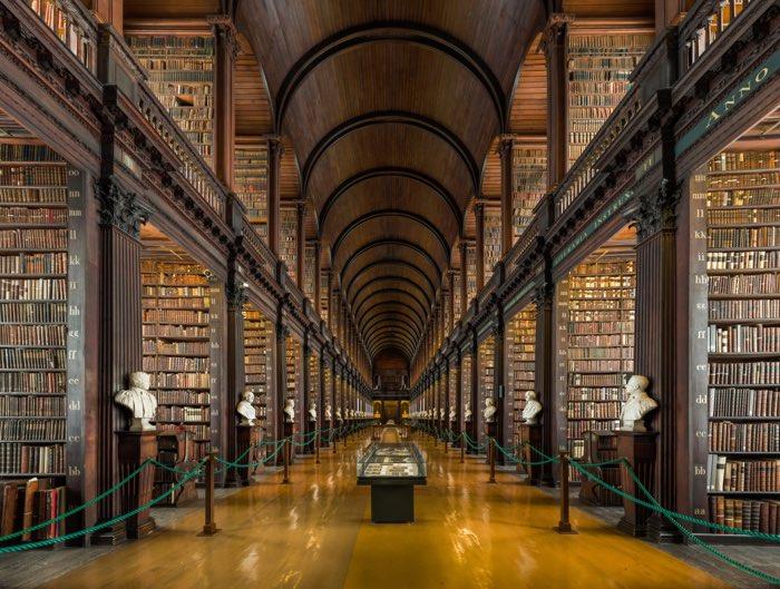 La librería del Trinity College