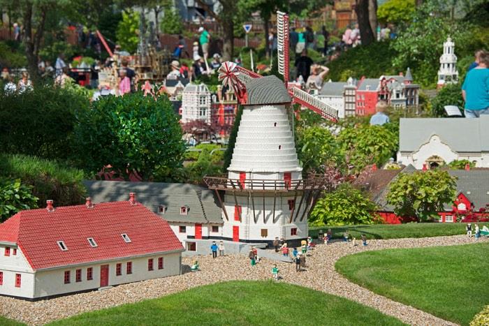 Una de les coses que poden veure els nens a Legoland