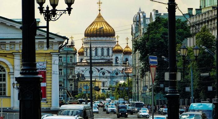 Moscú en un viaje de lujo