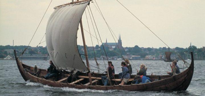Navegando por el fiordo Roskilde
