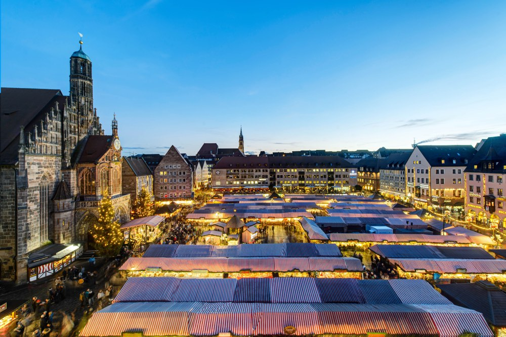 Mercado de Adviento de Nuremberg