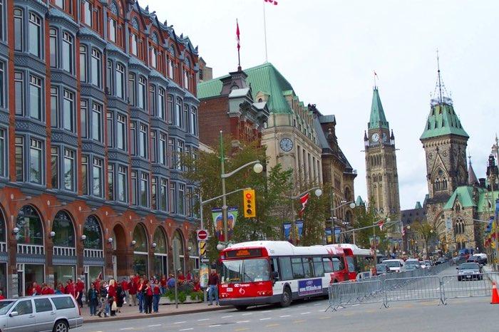 Ottawa a la costa est de Canadà