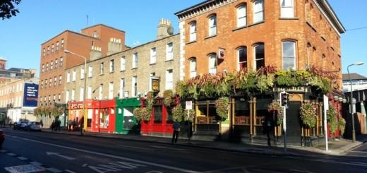 Paseando por Dublín con niños