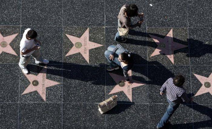 Paseo de la fama en Los Angeles