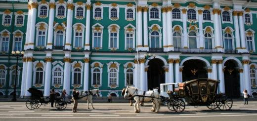 Palacio de invierno del Hermitage