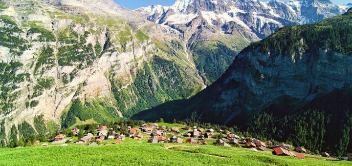 El pueblo de Gimmelwald