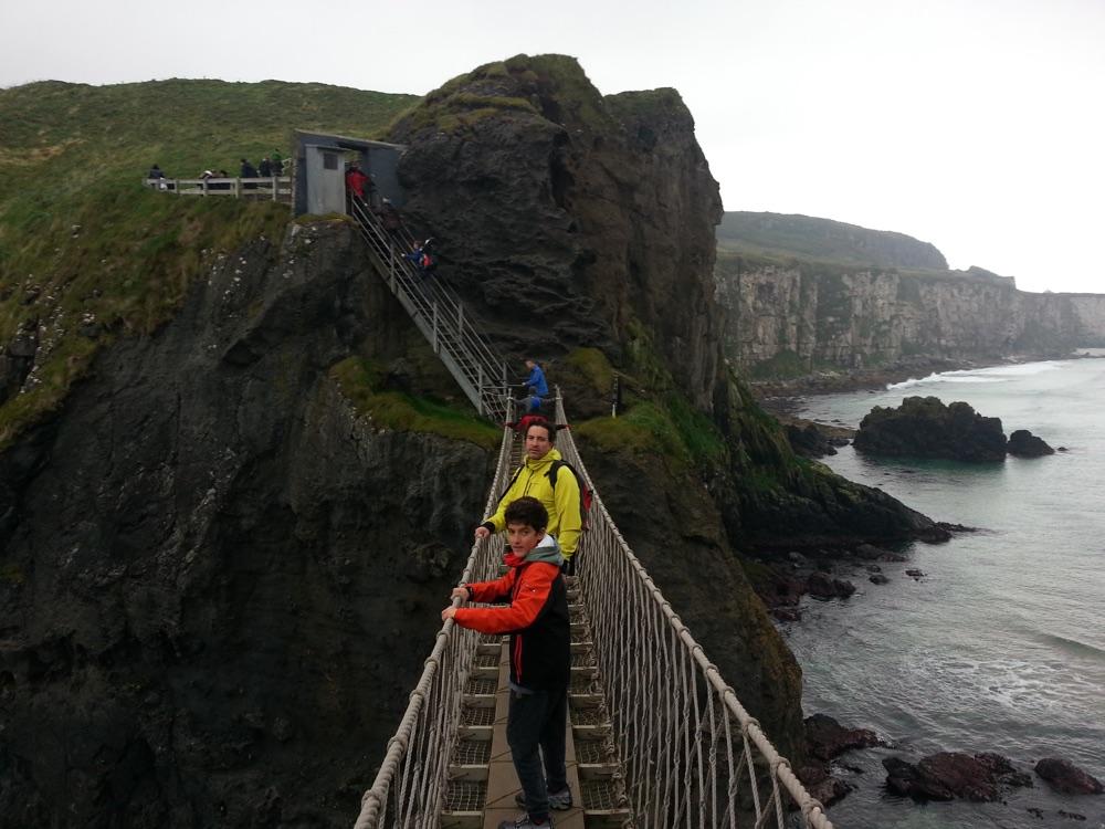 El puente de cuerda de Carrick-a-Rede