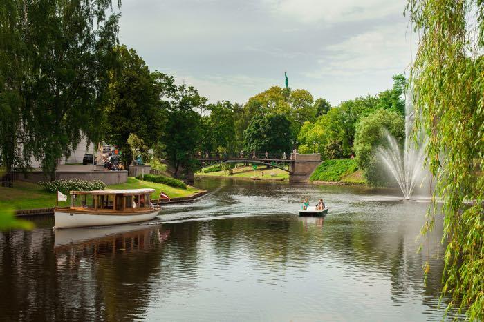 La ciudad de Riga está lleno de rincones encantadores