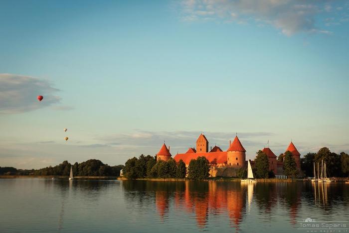 El impresionante castillo de Trakai