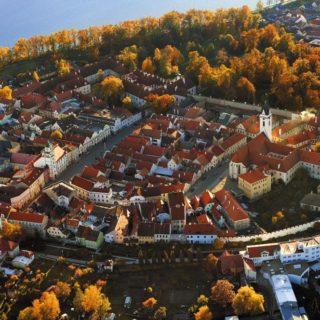 La localitat Bohèmia de Trebon