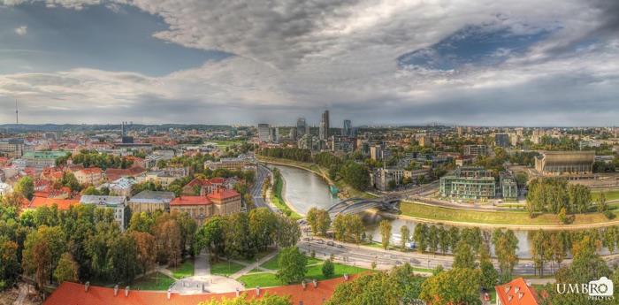 Vilnius, la capital de Lituania