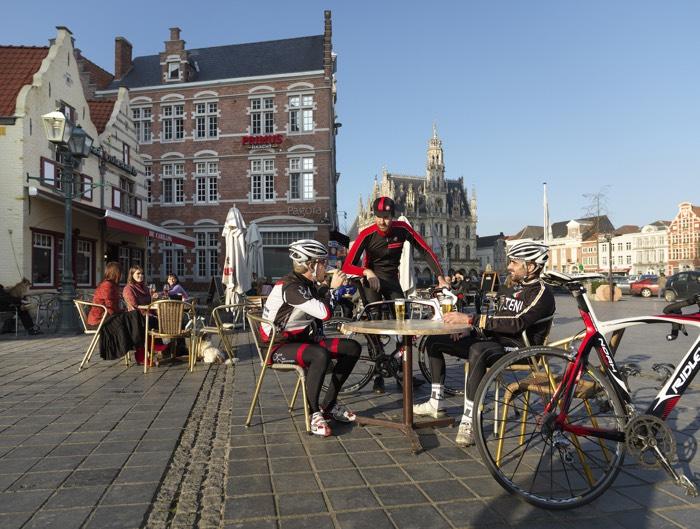 Holanda y Flandes en bici y barco