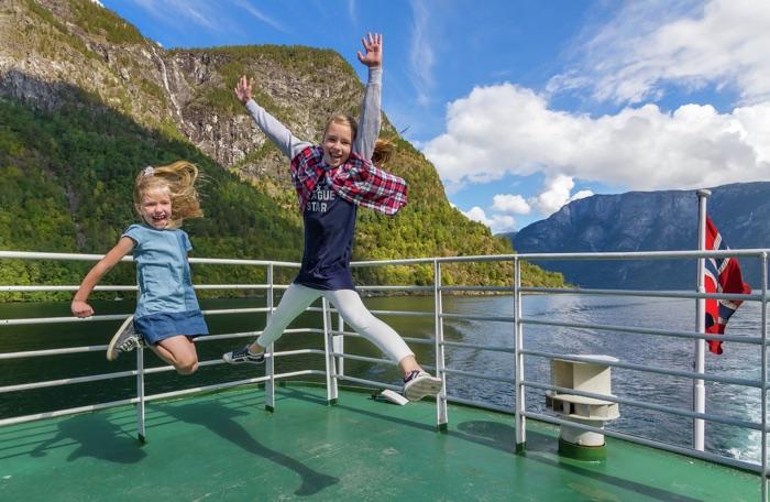 Creuer pels fiords noruecs amb nens
