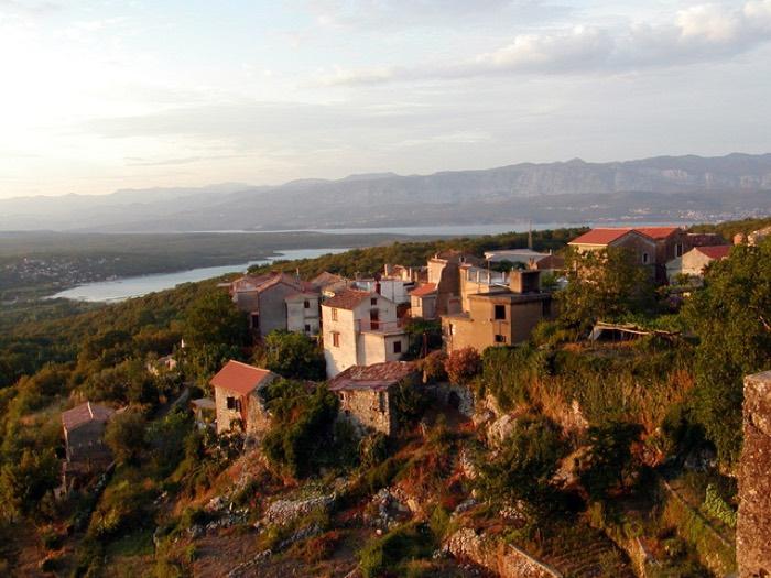 Un poble típic de Croàcia