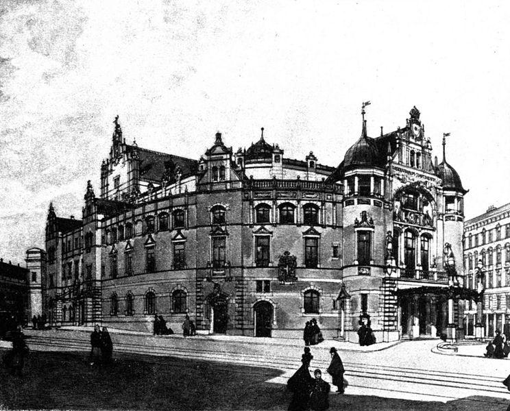 El Wiener Volskoper en 1898