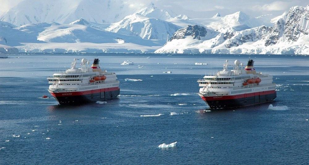 Tipos de cruceros: la antartida