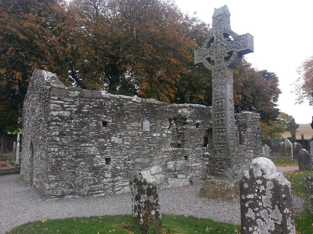 Cruces celtas en el cementerio de Monasteirboice