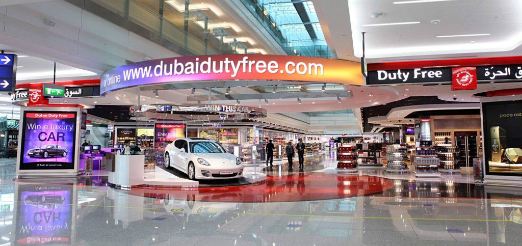 Duty free a Dubai
